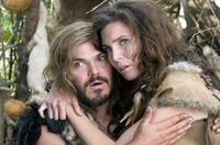 Jack Black and June Raphael in