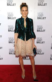 Sarah Jessica Parker at the 2010 New York City Ballet Spring.