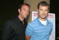 Trey Parker and Matt Stone at the Los Angeles premiere of