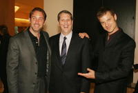 Trey Parker, Doug Herzog and Matt Stone at the ACLU Foundation's Annual Torch of Liberty Awards Dinner.