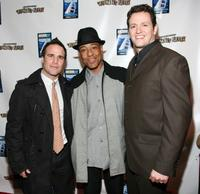 Russ Terlecki, John Carlo Esposito and Tom Malloy at the New York premiere of