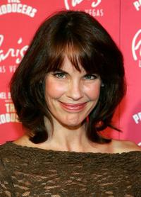 Alexandra Paul at the grand opening of Mel Brooks' musical comedy