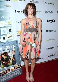 Alexandra Paul at the premiere of