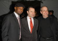 Nelson Ellis, Colin Callender and David Paymer at the after party of the screening of
