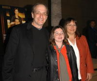 David Paymer, daughter Emily and his wife Liz at the screening of