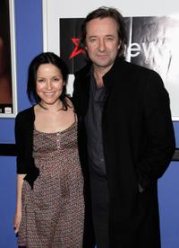 Andrea Corr and Neil Pearson at the premiere of