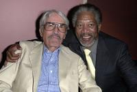 Gregory Peck and Morgan Freeman at the premiere of