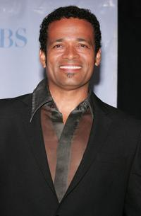 Mario Van Peebles at the press room during the 34th Annual Daytime Emmy Awards.