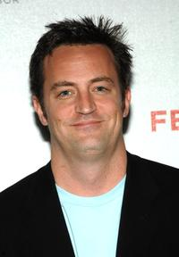 Matthew Perry at the premiere of