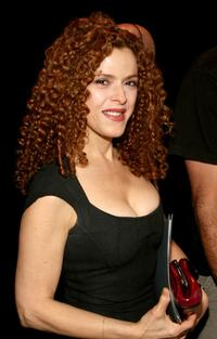 Bernedette Peters at the Zac Posen 2008 Fashion Show during the Mercedes-Benz Fashion Week Spring 2008.