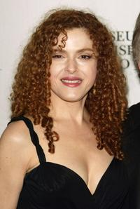 Bernadette Peters at the Museum of Television and Radio gala.