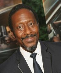 Clarke Peters at the premiere of