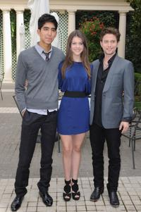 Dev Patel, Nicola Peltz and Jackson Rathbone at the photocall of