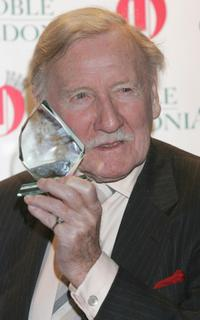 Leslie Phillips at the Oldie Of The Year Awards 2007.