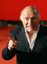 Michel Piccoli and Director Otar Iosselianiat at the Rome Film Festival screening of