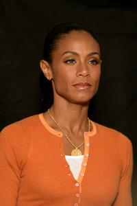 Jada Pinkett-Smith at the photo call to promote