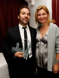 Jeremy Piven and Isabella Hoffman at the 5th annual Columbia College Chicago Impact Awards 2007.