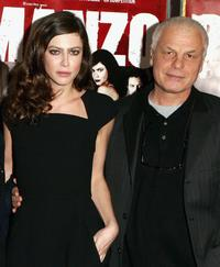 Michele Placido and Anna Mouglalis at the premiere of