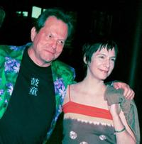 Terry Gilliam and Amanda Plummer at the Vision Awards and Screening Gala.