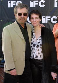 Amanda Plummer and Tobe Hooper at the Independent Film Channel Party.