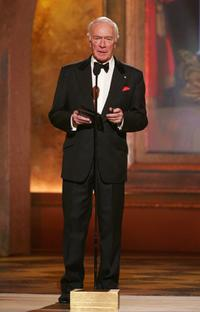 Christopher Plummer at the 61st Annual Tony Awards.