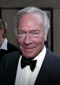 Christopher Plummer at the 49th annual Drama Desk Awards.