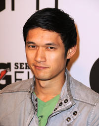 Harry Shum, Jr. at the Gatorade's