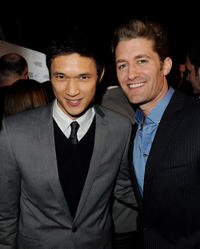 Harry Shum, Jr. and Matthew Morrison at the Fox TV's TCA All-Star party in California.