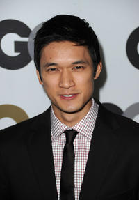 Harry Shum, Jr. at the GQ 2010