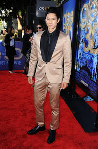 Harry Shum, Jr. at the California premiere of