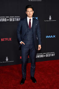 Harry Shum Jr at the California premiere of