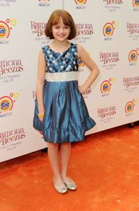 Joey King at the New York premiere of
