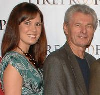 Erin Bethea and Meyer Gottlieb at the premiere of