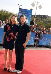 Zoe Cassavetes and Melvil Poupaud at the screening of