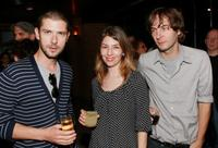 Melvil Poupaud, director Sofia Coppola and Thomas Mars at the after party of the premiere of