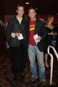 Jeff Marx and Mike Doyle at the New York Stage and Film 2004 Gala.