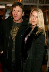 Dennis Quaid and Kimberly Buffington at Sundance Party during the 2008 Sundance Film Festival.