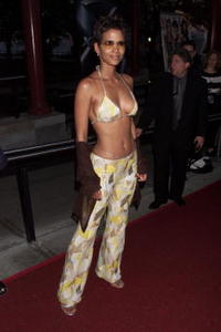 Halle Berry at the X-Men premiere.