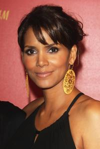 Halle Berry at the H and M collection launch party.