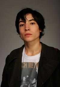 Ezra Miller at the Tribeca Film Festival 2010 portrait studio.