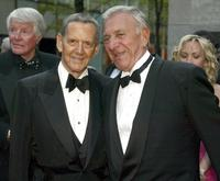 Tony Randall and Jack Klugman at the NBC 75th Anniversary Special.