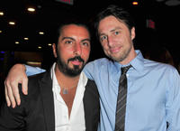 Danny A. Abeckaser and Zach Braff at the California premiere of