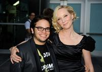 Charlie Saxton and Anne Heche at the Los Angeles screening of