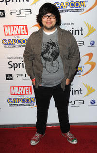 Charlie Saxton at the Marvel Vs. Capcom party during the Comic-Con 2010.