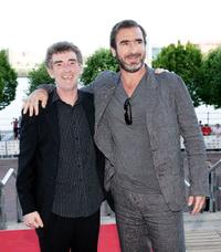 Steve Evets and Eric Cantona at the UK premiere of