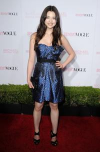 India Eisley at the 8th Annual Teen Vogue Young Hollywood party in California.