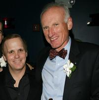 Scott Ellis and James Rebhorn at the after party of the premiere of