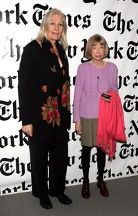 Vanessa Redgrave and Joan Didion at the Cuny Graduate Center.