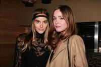 Isabel Lucasa and Rose Byrne at the Sydney screening of