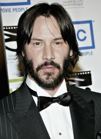 Keanu Reeves at the 20th Annual American Cinematheque Award Dinner Honoring Al Pacino.